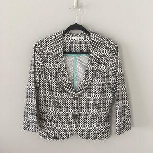 CAbi Jackets & Coats - CAbi Fitted Blazer with Rouching